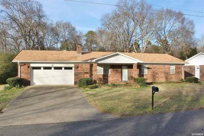 Hot Springs AR Single Family Home For Sale: $129,900