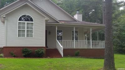 Hot Springs Single Family Home For Sale: 196 Delee Pl