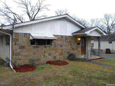 Hot Springs Single Family Home For Sale: 400 Mountain View