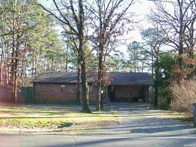 Hot Springs AR Single Family Home For Sale: $132,400