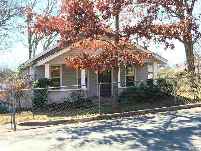 Hot Springs AR Single Family Home For Sale: $78,000