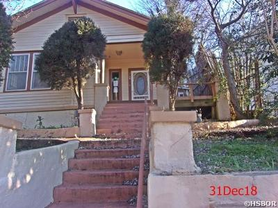 Hot Springs AR Single Family Home For Sale: $19,000