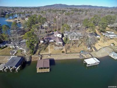 Hot Springs Single Family Home For Sale: 337 Sunset Bay Rd