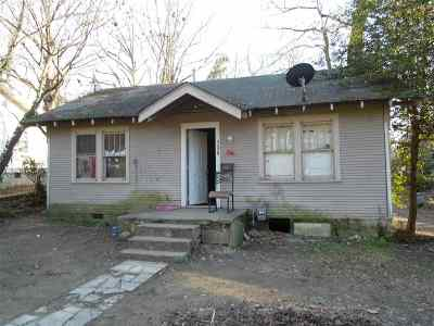 Hot Springs AR Single Family Home For Sale: $14,000