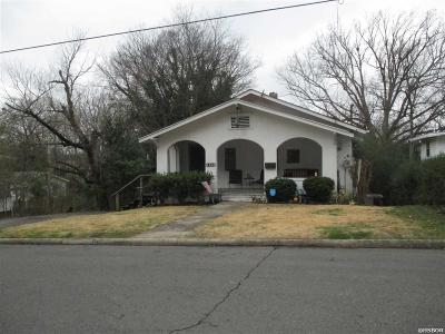 Hot Springs Single Family Home Active - Contingent: 415 Ramble