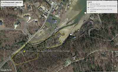 Residential Lots & Land For Sale: Rock Creek Rd