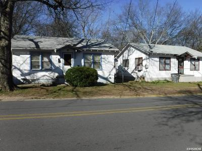Hot Springs Single Family Home For Sale: 202 & 204 Alcorn #( 3 hous