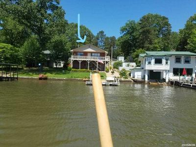 Garland County Single Family Home For Sale: 123 Beach Haven Cir