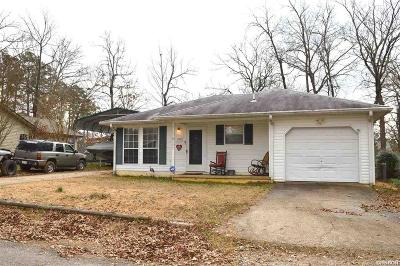 Hot Springs AR Single Family Home For Sale: $109,900