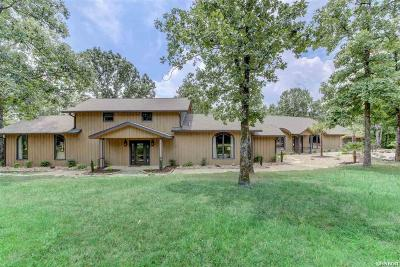 Hot Springs Single Family Home For Sale: 614 Woodview Ln
