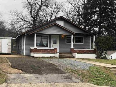 Hot Springs Single Family Home For Sale: 1200 W St Louis
