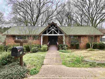 Hot Springs Single Family Home For Sale: 210 Quail Creek Rd
