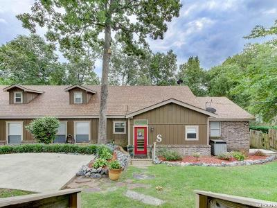Hot Springs Single Family Home For Sale: 1290 Rock Creek Rd