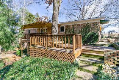Hot Springs Single Family Home For Sale: 965 Burchwood Bay Rd