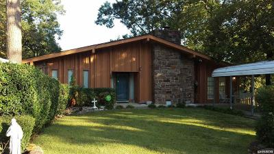 Hot Springs Single Family Home For Sale: 103 Culbreath Pt