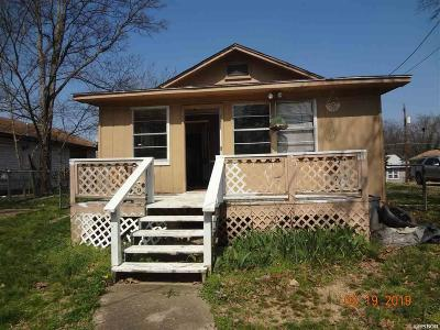 Hot Springs Single Family Home For Sale: 313 & 313b Vista Ave