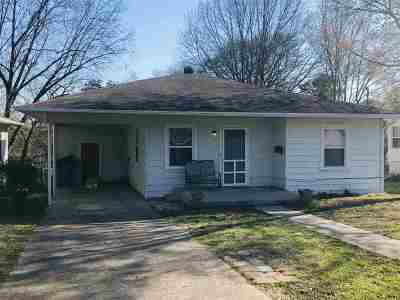 Hot Springs Single Family Home Active - Contingent: 337 Leonard
