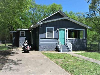 Hot Springs Single Family Home Active - Contingent: 2119 Spring St