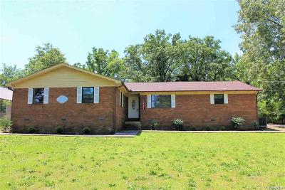 Garland County Single Family Home For Sale: 1242 Golf Links Rd