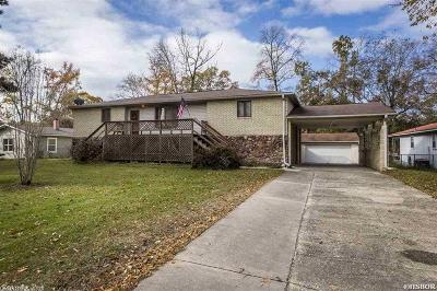 Garland County Single Family Home For Sale: 1696 Treasure Isle Rd