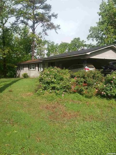 Hot Springs Single Family Home For Sale: 3400 Marion Anderson Rd