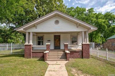 Hot Springs Single Family Home For Sale: 608 Rector St