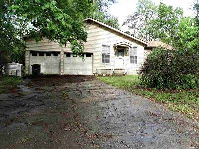 Hot Springs AR Single Family Home Active - Contingent: $85,000