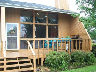 Garland County Condo/Townhouse For Sale: 120 Cash #C-6