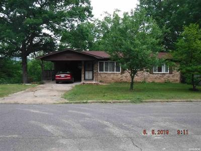 Hot Springs Single Family Home For Sale: 406 Cottonwood