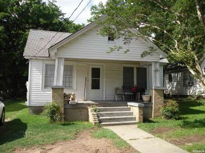 Hot Springs AR Single Family Home For Sale: $32,500