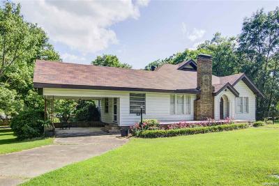 Bismarck, Fountain Lake, Glenwood, Hot Springs Village, Magnet Cove, Malvern Single Family Home For Sale: 1519 Pine Bluff Street