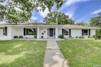 Hot Springs Single Family Home Active - Contingent: 146 Oaklawn