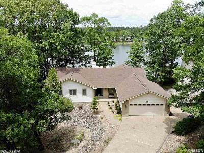 Bismarck, Fountain Lake, Glenwood, Hot Springs Village, Magnet Cove, Malvern Single Family Home For Sale: 39 Zarpa Way