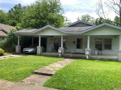 Hot Springs Single Family Home For Sale: 717 Garland Ave