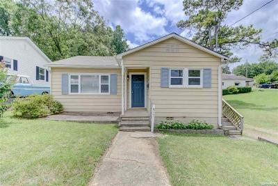 Hot Springs AR Single Family Home For Sale: $72,000