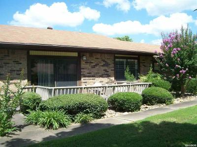 Garland County Condo/Townhouse For Sale: 109 Indian Hills #B-2