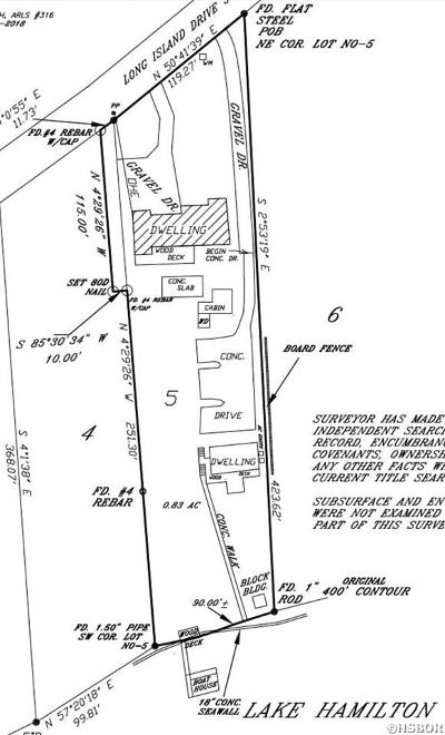 Hot Springs AR Residential Lots & Land For Sale: $399,000