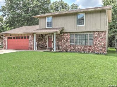 Hot Springs Single Family Home For Sale: 109 Cedarwood