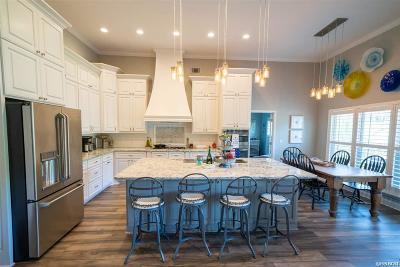 Single Family Home For Sale: 100 Four Oaks Ln