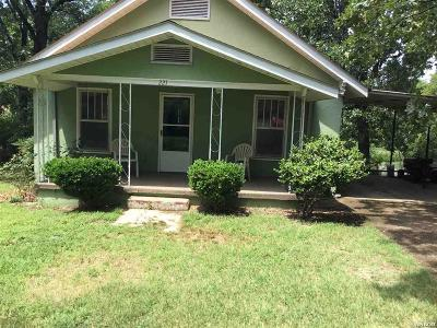 Hot Springs AR Single Family Home Active - Contingent: $74,500