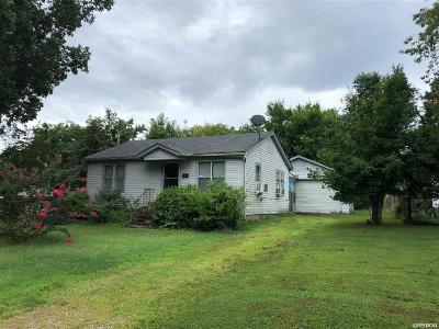 Hot Springs AR Single Family Home For Sale: $85,000
