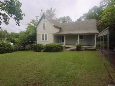 Hot Springs AR Single Family Home For Sale: $115,000