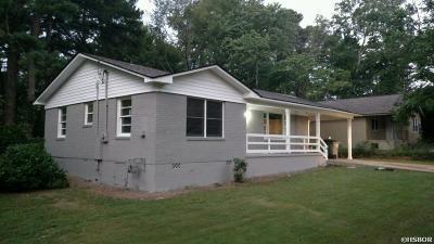 Hot Springs Single Family Home For Sale: 208 Langston