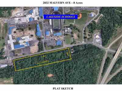 Garland County Commercial For Sale: 2842 Malvern Ave