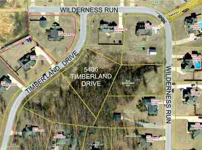 Residential Lots & Land For Sale: 5406 Timberland Drive