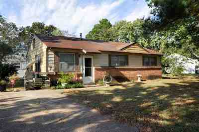 Single Family Home For Sale: 2309 Brazos