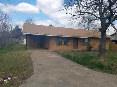 Single Family Home For Sale: 818 Grimes