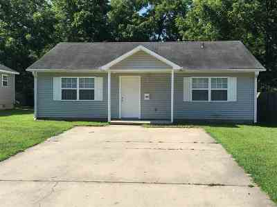 Single Family Home For Sale: 1407 W. Jefferson