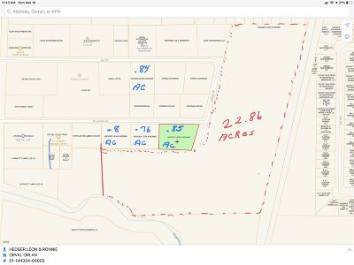 Residential Lots & Land For Sale: 8.5 Acs Orval Orlan Drive
