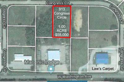 Residential Lots & Land For Sale: 913 Congress Circle